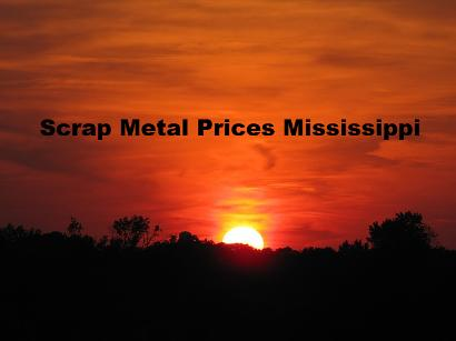 Scrap Metal Pricesn Per Pound Mississippi